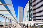 Asia, Japan, Honshu, Yokohama, city buildings