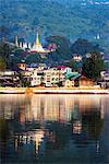 South East Asia, Myanmar, Pindaya, Pone Taloke Lake