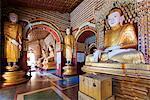 South East Asia, Myanmar, Monywa, Thanboddhay Paya temple, buddha statues