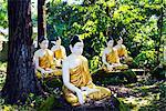 South East Asia, Myanmar, Bago, Four Figures Paya
