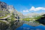 Europe, Poland, Carpathian Mountains, Zakopane, Lake Morskie Oko (Eye of the Sea)