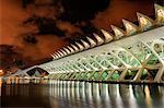 Europe, Spain, Valencia, City of Arts and Sciences, Principe Felipe Science Museum