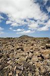 Volcanic landscape of Timanfaya National Park, Lanzarote