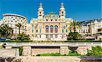 View of The Monte-Carlo Casino and Opera House, Monaco