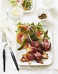 Short Ribs and Radish Salad