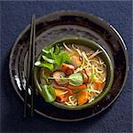 Bowl of Ramen Noodles with Pork
