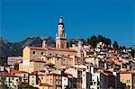 Menton, Provence-Alpes-Cote d'Azur, French Riviera, France, Mediterranean, Europe