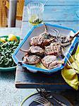 Lemon and mint lamb cutlets
