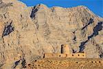 Bukha castle in Bukha, Musandam, Oman, Middle East