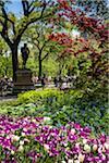Statue, Central Park, New York City, New York, USA