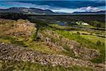 Thingvellir National Park, Blaskogabyggo, South Iceland, Iceland