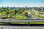View of the Southern Bridge in Riga, Latvia