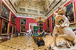 Malachite Room, The Hermitage Museum, St. Petersburg, Russia