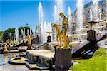 The Grand Cascade, Peterhof Palace, St. Petersburg, Russia