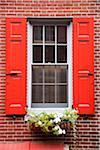 Elfreth's Alley, America's Oldest Neighborhood, Philadelphia, Pennsylvania, USA