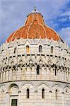 Pisa, Battistero at Piazza dei Miracoli, Italy