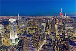 Manhattan skyline, New York City, USA