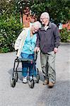Senior couple, Vastervik, Smiland, Sweden