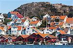 Buildings on coast
