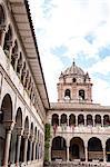 Santo Domingo church at the Qorikancha, Cuzco, UNESCO World Heritage Site, Peru, South America
