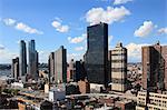 Midtown skyline, West Side, Manhattan, New York City, United States of America, North America
