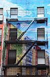 Tenement Apartment Building, East Village, Manhattan, New York City, United States of America, North America