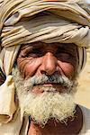 Rashaida man in the desert around Massawa, Eritrea, Africa