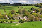 Upper Slaughter, Cotswolds, Gloucestershire, England, United Kingdom, Europe