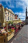 View of the Town Hall Square, Tallinn, Estonia