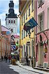Street scene, Tallinn, Estonia