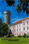 The Governor's Garden, Estonian Parliament Buildings, Toompea Castle, Tallinn, Estonia