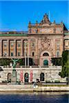 The Riksdag (Parliament House), Helgeandsholmen Island, Stockholm, Sweden