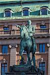 Statue of Gustav II Adolf, Gustav Adolf's Square, Norrmalm, Stockholm, Sweden