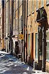 Street scene, Gamla Stan (Old Town), Stockholm, Sweden