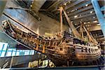 The Vasa warship, Vasa Museum, Stockholm,, Sweden