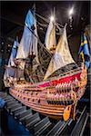 Close-up of ship, Vasa Museum, Stockholm, Sweden
