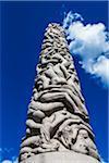 Monolith, Gustav Vigeland Installation in Frogner Park, Oslo, Norway