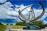 Sundial, Gustav Vigeland Installation in Frogner Park, Oslo, Norway