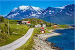 Bakkejord, Kvaloya Island, Tromso, Norway