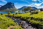 Bergsbotn, Senja Island, Troms, Norway