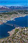 Overview of Tromso, Troms, Norway