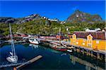 Nusfjord, Flakstadoya, Lofoten Archipelago, Norway
