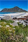 Skagsanden Beach, Flakstadoya, Lofoten Archipelago, Norway