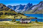 Stromsnes, Flakstadoya, Lofoten Archipelago, Norway