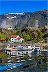 Sund, Flakstad, Flakstadoya, Lofoten Archipelago, Norway