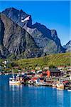 Reine, Moskenesoya, Lofoten Archipelago, Norway