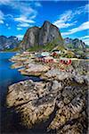 Hamnoy, Moskenesoya, Lofoten Archipelago, Norway