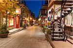 Old Quebec City at Night, Quebec, Canada