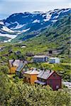Flam Railway, Myrdal, Aurland, Sogn og Fjordane, Norway