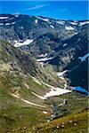 Along Bjorgavegen Tourist Route from Aurland to Laerdal, Sogn og Fjordane, Norway